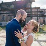 Bruidskapsel buiten